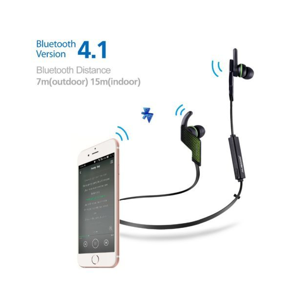 Earphone Sport Wireless AUSDOM Bluetooth4.1