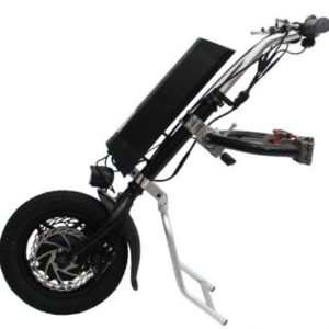 Electric tractor for wheelchair / electric manipulator /