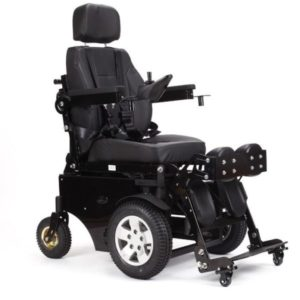 Foldable power electric wheelchair EW-SL2601
