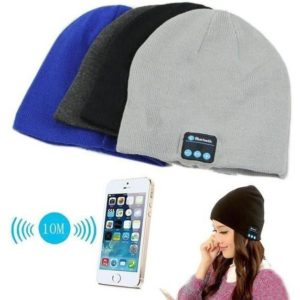 Soft Warm Hat Wireless Bluetooth Headset Headphone Smart