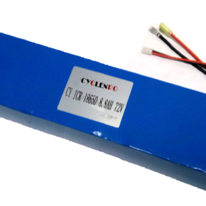 72V 8.8Ah lithium battery